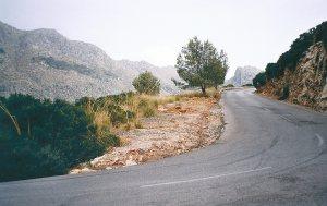 Auffahrt zum Cap Formentor