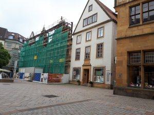 2018-06 Die Altstadt von Bielefeld, wird eine Rolle im Roman spielen